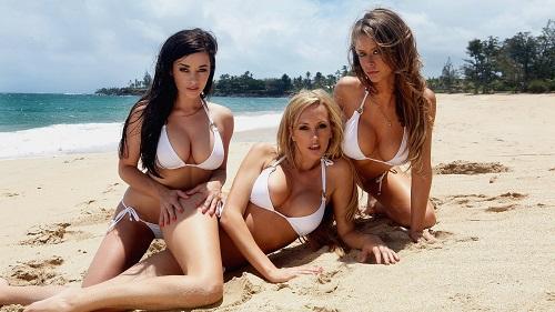 Бомба пляжного сезона! Очень яркие персонажи, на которых без слёз не взглянешь...