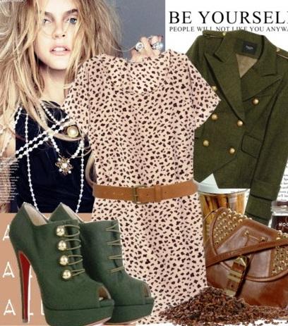 Модные секретики - как носить леопардовые вещи и не выглядеть вульгарно