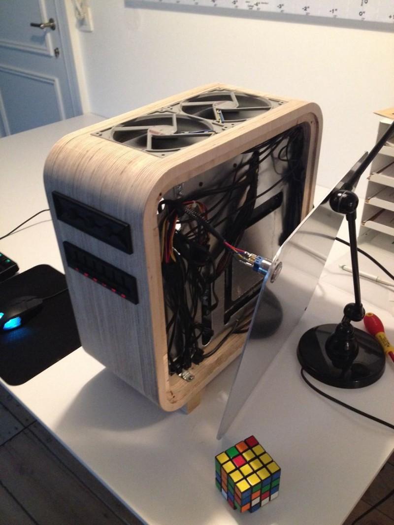 Корпус компьютера своими руками с дерева