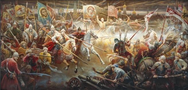 В каких сражениях русские побеждали армии, превосходившие их по численности