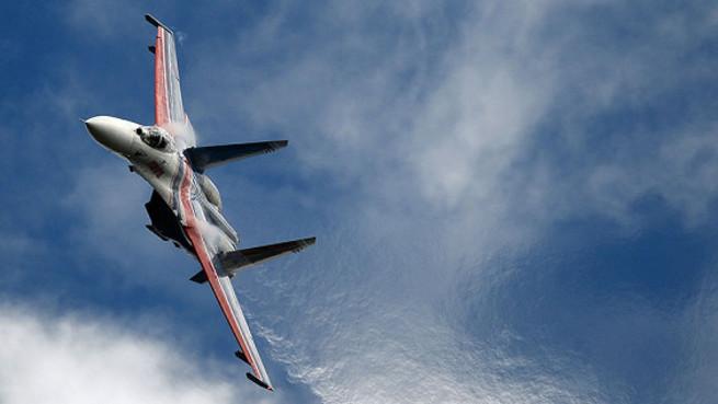 Изображая русских: Су-27 разбился на учениях в Неваде