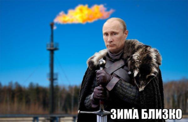 «Молчать или будете мёрзнуть!»: ЕС обнаружил у себя на шее «газовый поводок» Путина