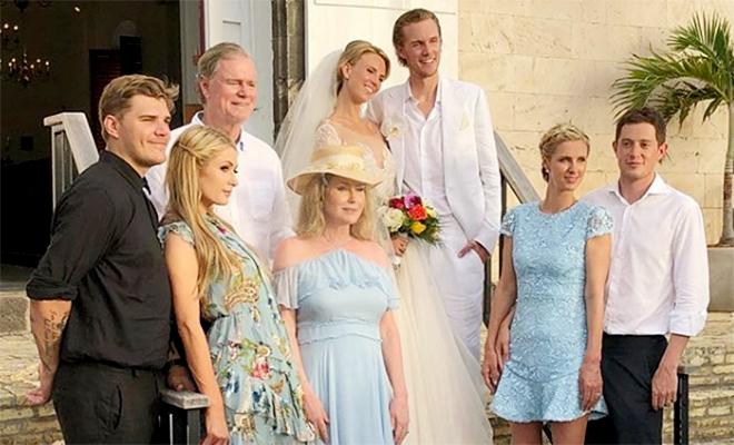 Младший брат Пэрис и Ники Хилтон женился на актрисе Тессе фон Вальдердорфф
