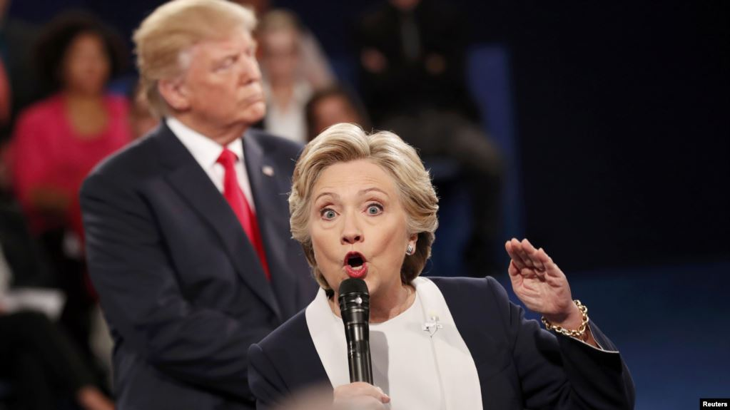 Трамп заявил о симпатии к россиянам и назвал Клинтон сумасшедшей