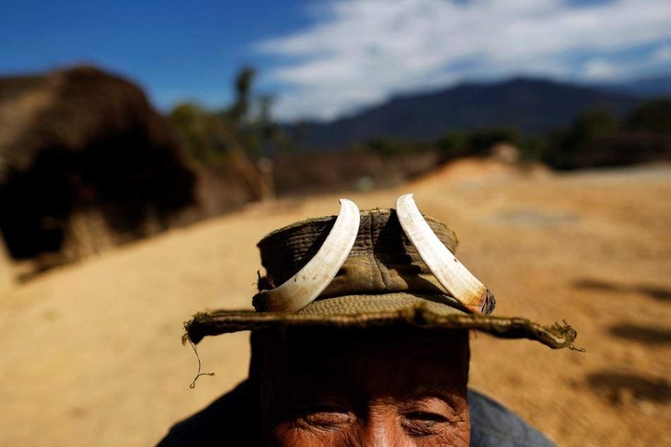 Охота людей народности нага в Мьянме