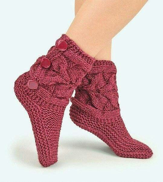 Носки-сапожки (вязание МК)