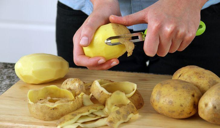 Картинки по запросу картофельные очистки