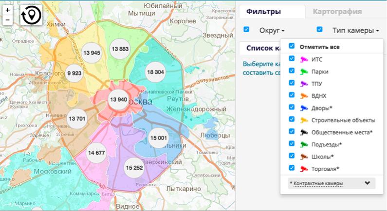 Как работает крупнейшая система видеонаблюдения России