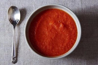 Томатный суп-пюре классический