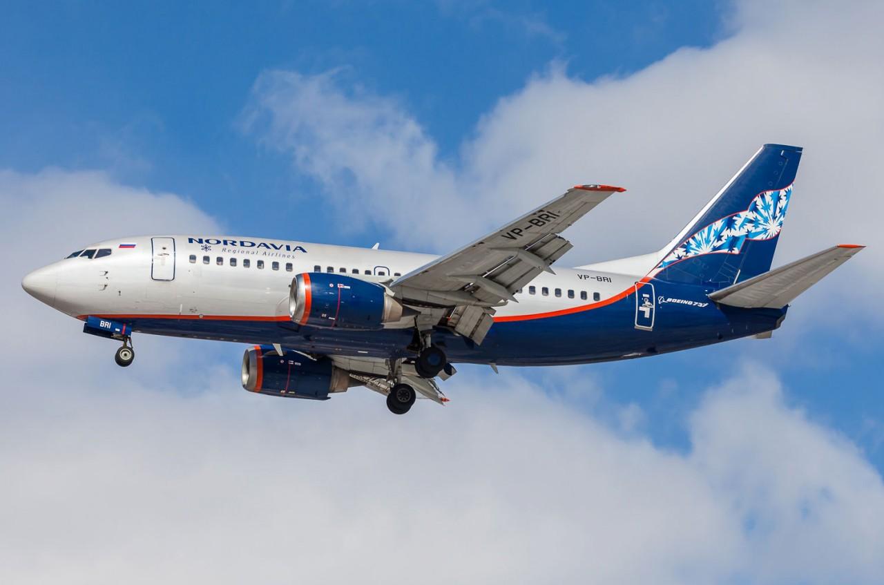 Нордавиа отдал предпочтение самолетам Boeing-737 NG