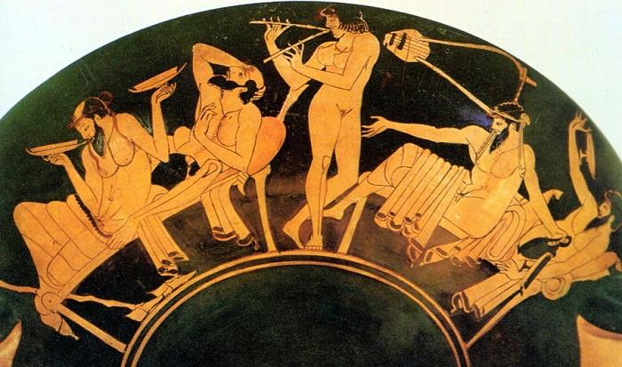 Как отдыхали и веселились древние греки