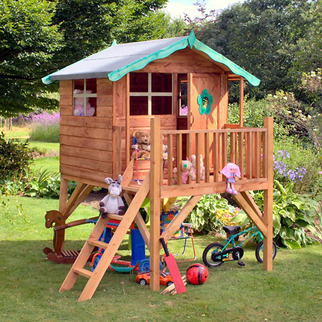 Фото детского домика на даче