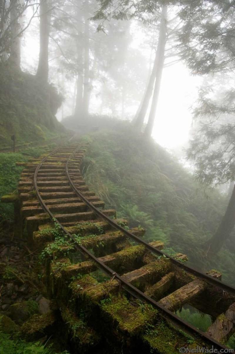 5. Заброшенная шахтная железная дорога, Тайвань заброшенные места, крипи, прикол, ужас