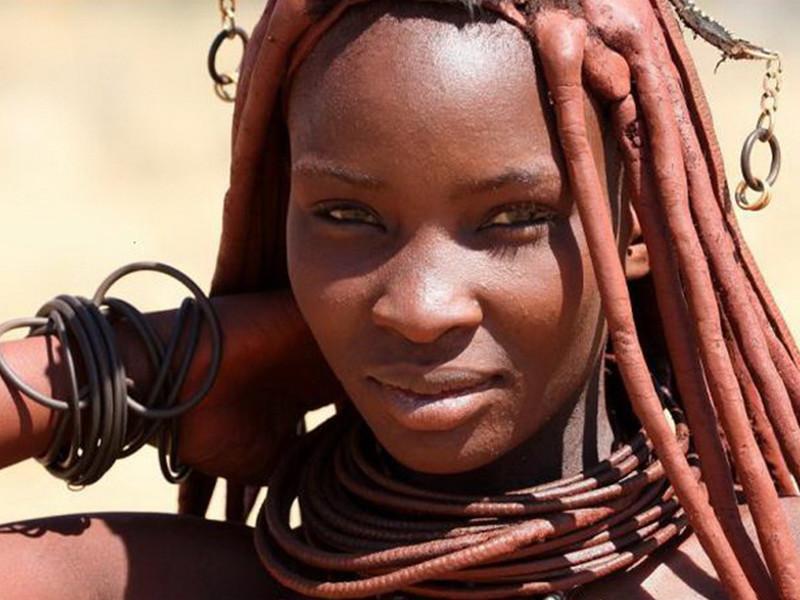 Прекрасное племя Химба из Намибии