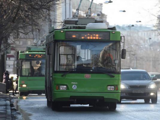 До окончания дорожных работ на ул.Максимова перестанет курсировать троллейбус №13