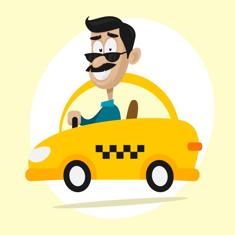 Анекдот про московского таксиста вГрузии