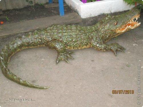 Делаем крокодила