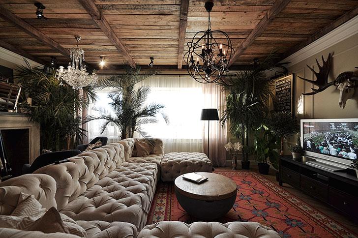 Удивительная квартира дизайнера Артемия Саранина в Перми