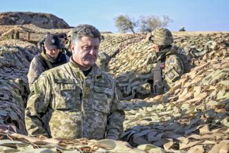 Петр Порошенко: В Донбассе идет война против моей страны