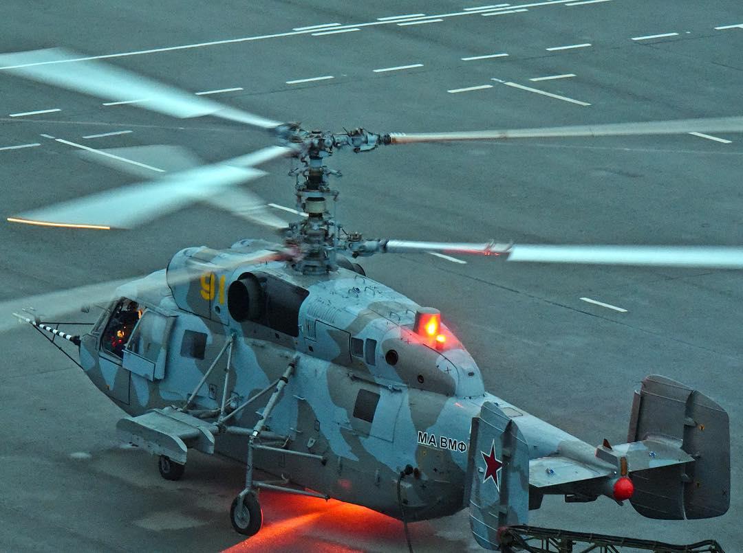 Авиация Тихоокеанского флота получила шесть отремонтированных вертолетов Ка-29
