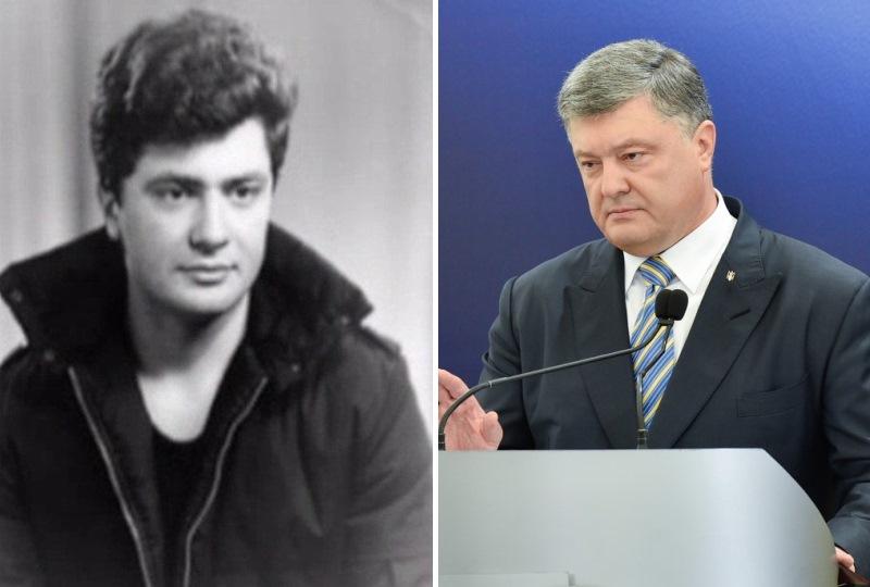 Петр Порошенко. Политики в молодости: вот как они выглядели (фото)