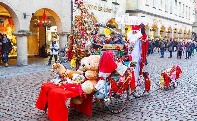 Немецкие Деды Морозы «зажрались»: 500 евро в день им мало