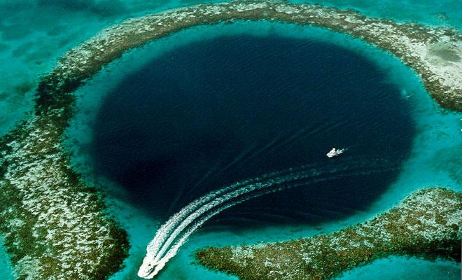 Голубые дыры океана: провалы, ведущие в бездну