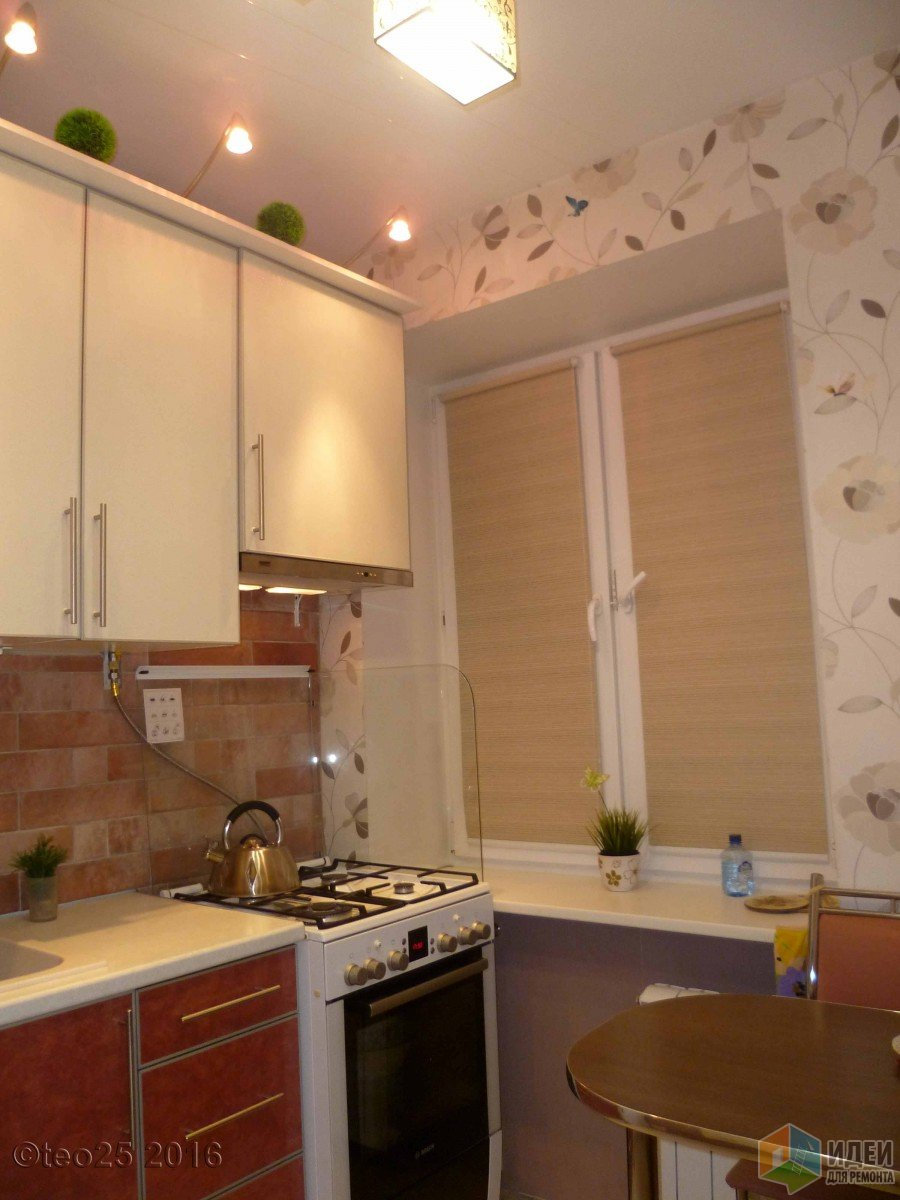 Ремонт кухни своими рукам 6 кв.м