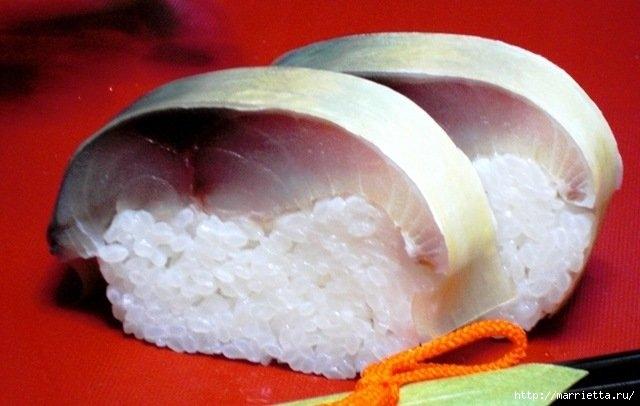 Суши из скумбрии - САБА СУШИ (16) (640x406, 124Kb)