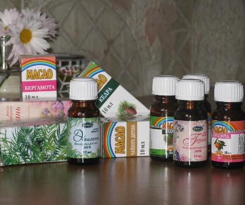 Использование эфирных масел при насморке
