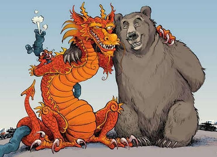 Китай и Россия развалили аме…
