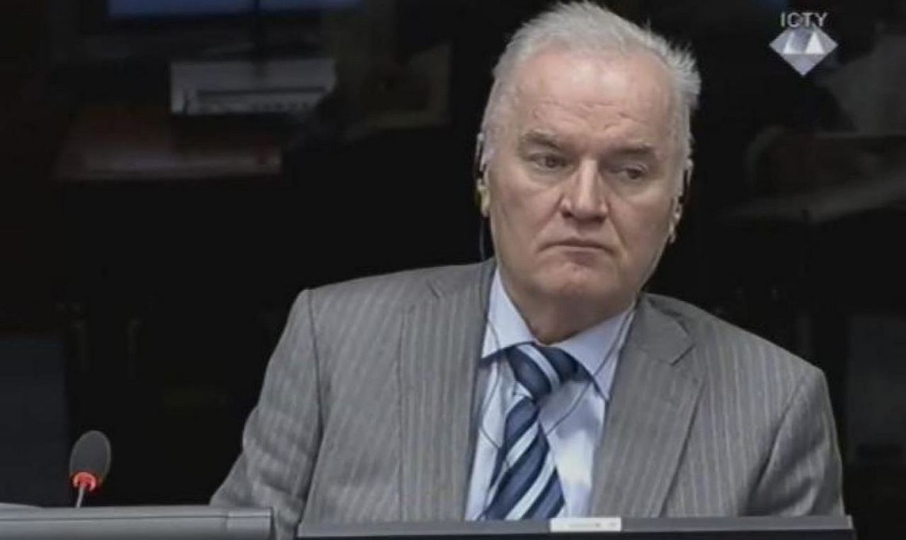 Гаагский трибунал отказывает генералу Младичу в праве на жизнь