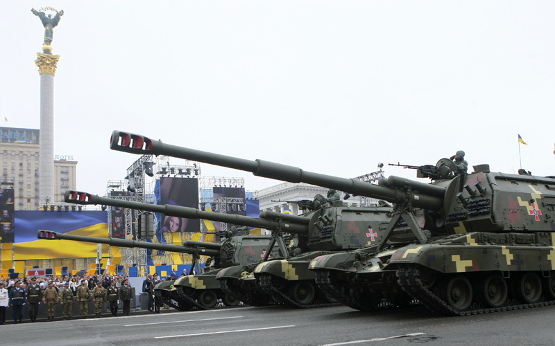 Состав вооруженных сил Украины на март 2017 года
