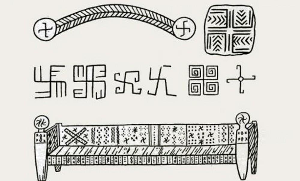 Русколань и ведические символы на Кавказе