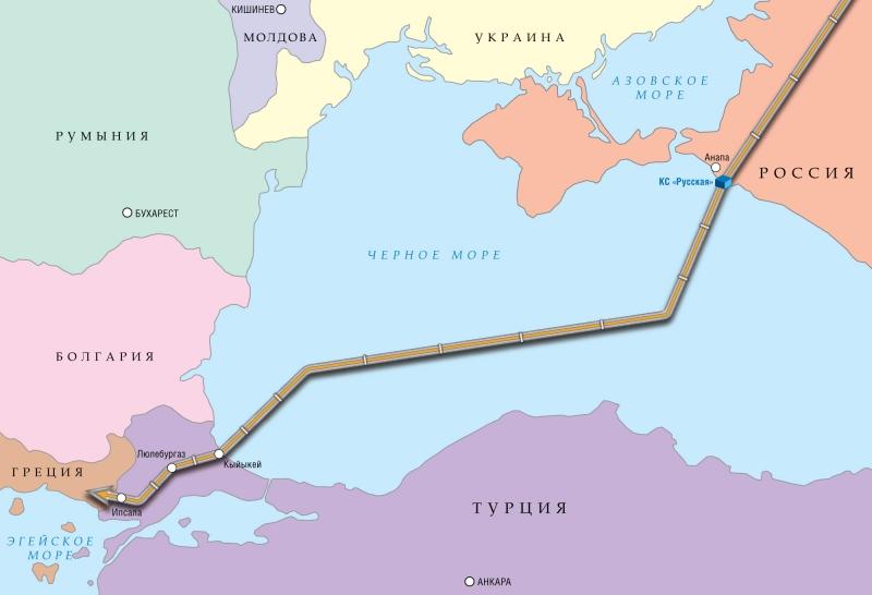 Киев надеется в пику «Турецк…