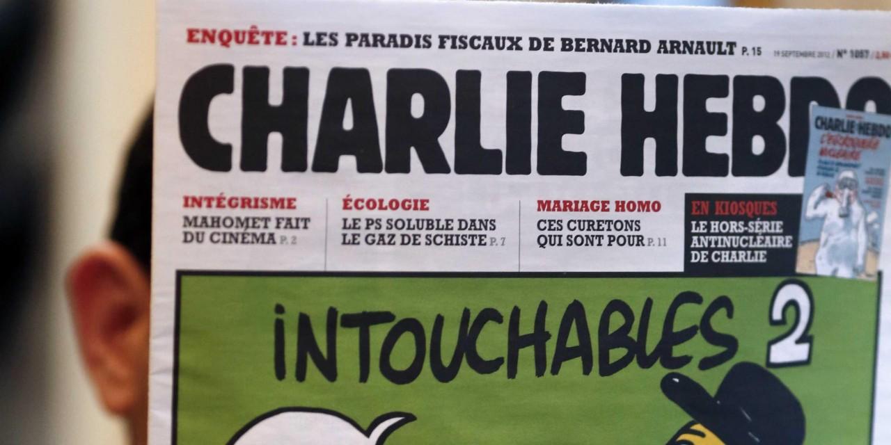 Шарли Эбдо поздравили сборную Франции с победой расистской обложкой