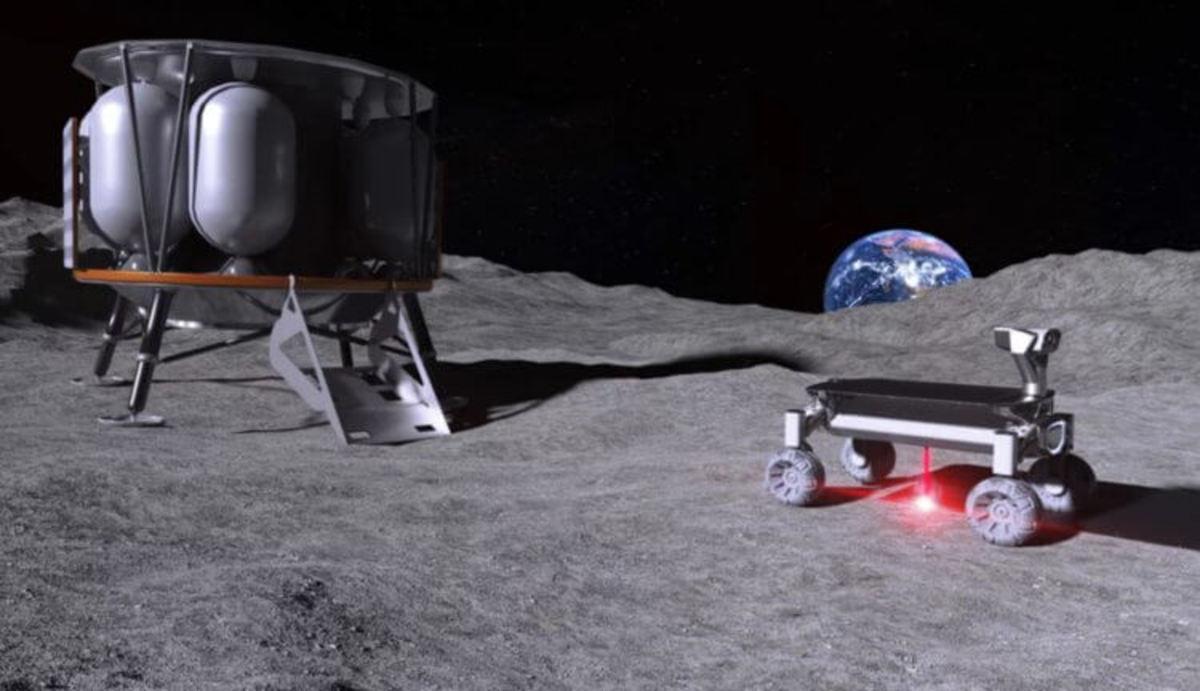 На Луну отправится 3D-принтер