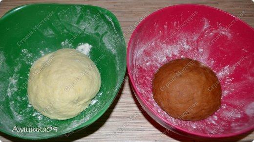 Этот хлеб - моя давнишняя мечта ))) Я наконец-то получила форму и сразу принялась его делать. Его можно выпекать и в простой прямоугольной форме для кекса или хлеба. фото 11