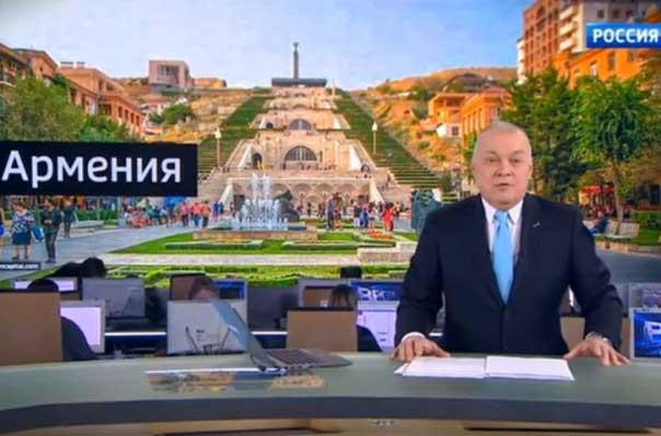 Российская пропагандистская машина для «промывки мозгов» должна быть исключена из армянского эфира