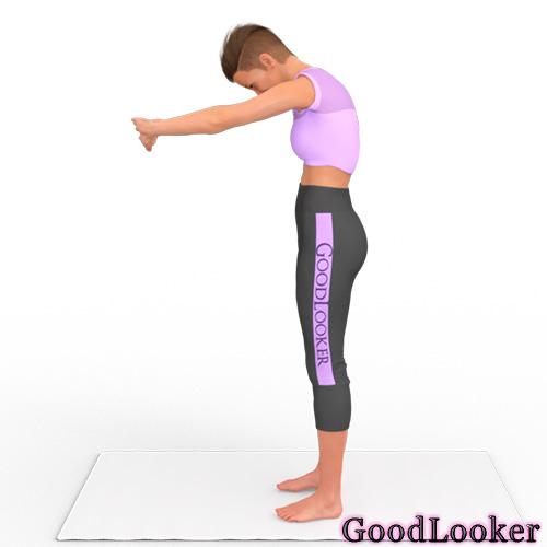 Прогиб верхней части спины