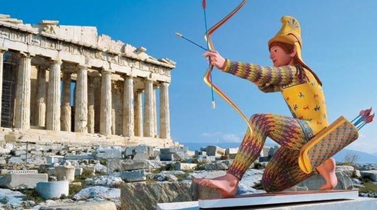 Как на самом деле выглядели древнегреческие статуи и храмы