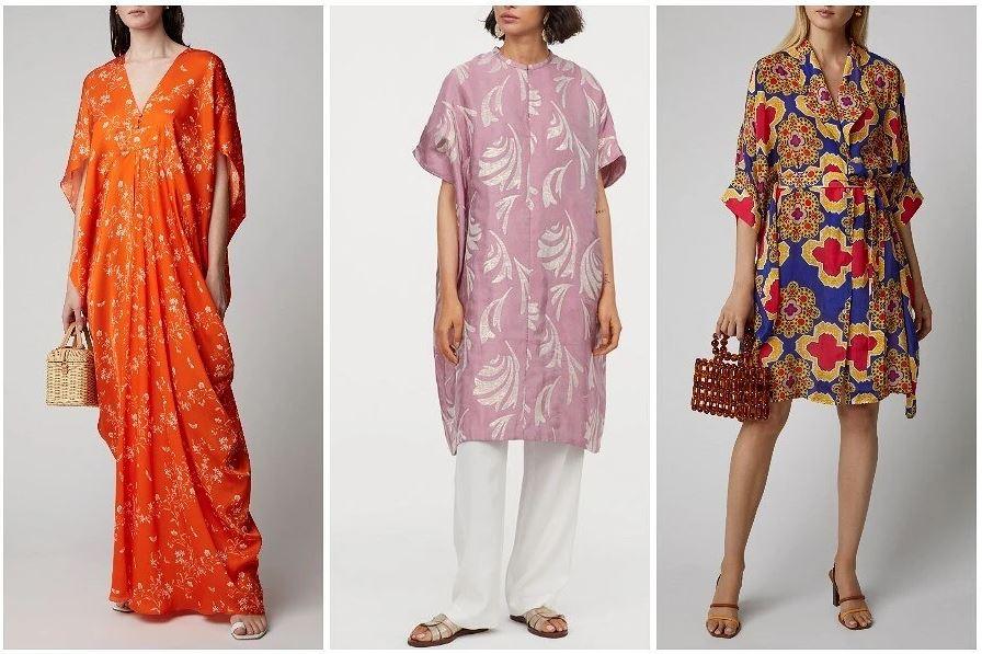 Платье-кафтан: «одежда длякрасивых людей» снова вмоде
