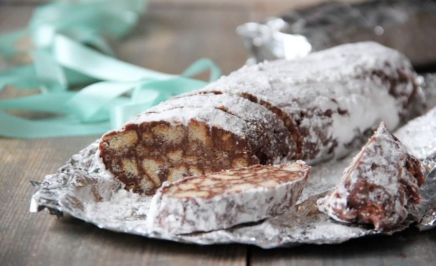 Вкус детства: 3 рецепта шоколадной колбасы