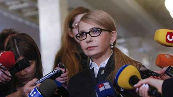 Тимошенко рассказала, кто бу…