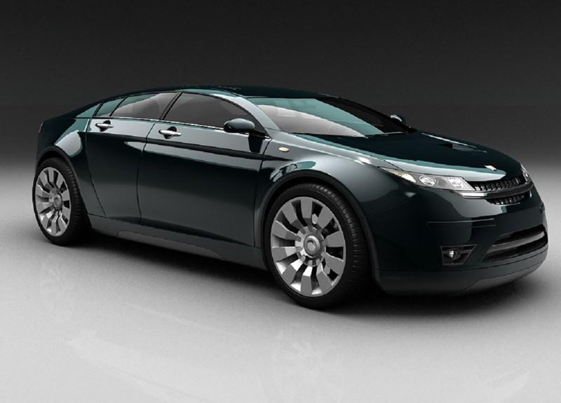 ГАЗ 5000 GL. автомобили, ваз, газ, концепты, российские автомобили, уаз