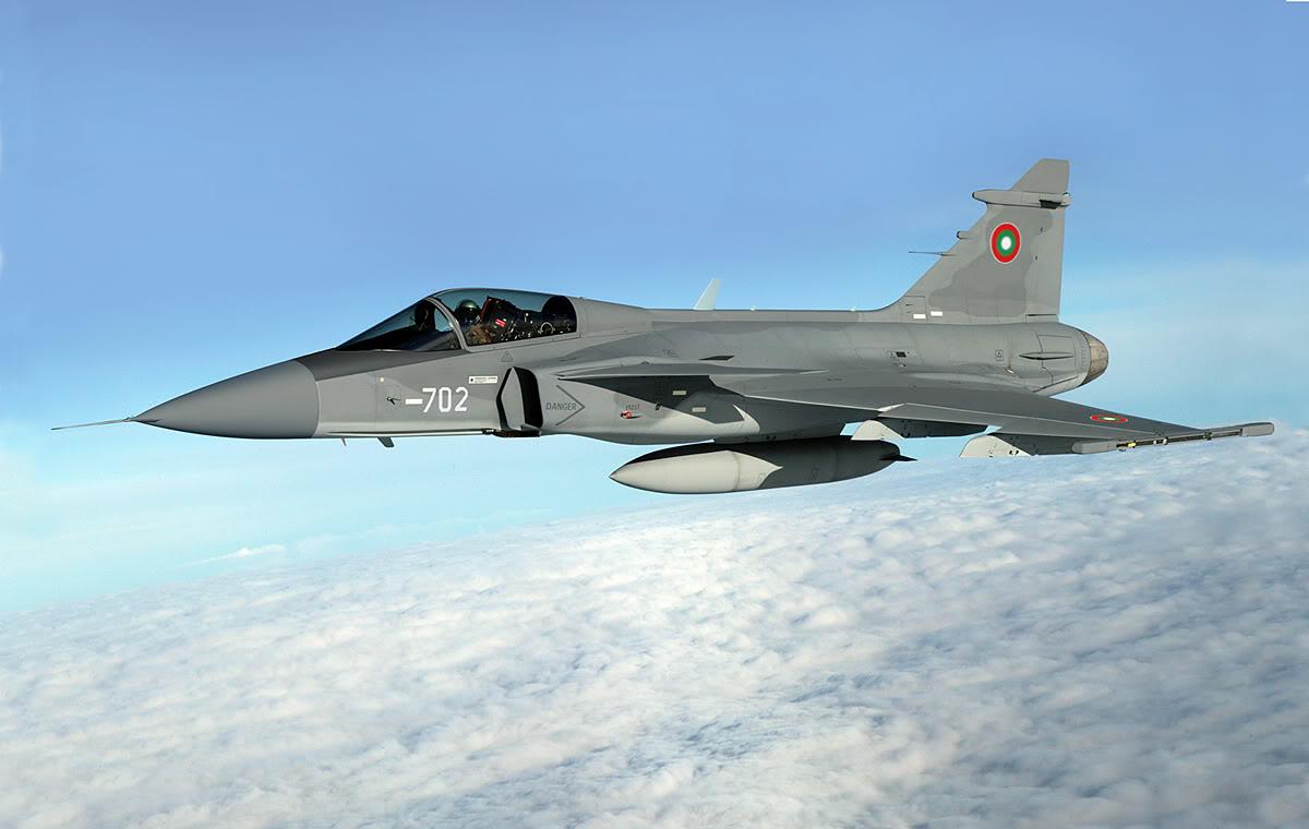 Болгария выбрала истребители JAS-39 Gripen
