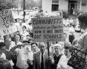 Протесты белых против совместного обучения белых и негров в школах США