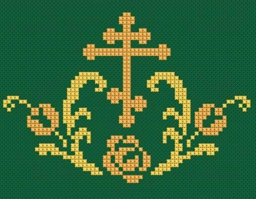 Схемы христианской вышивки