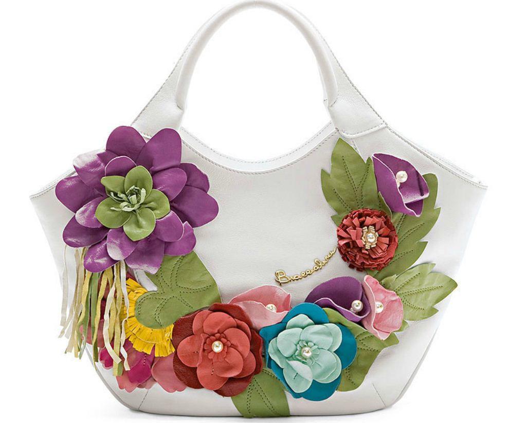 Украсить белую сумку своими руками