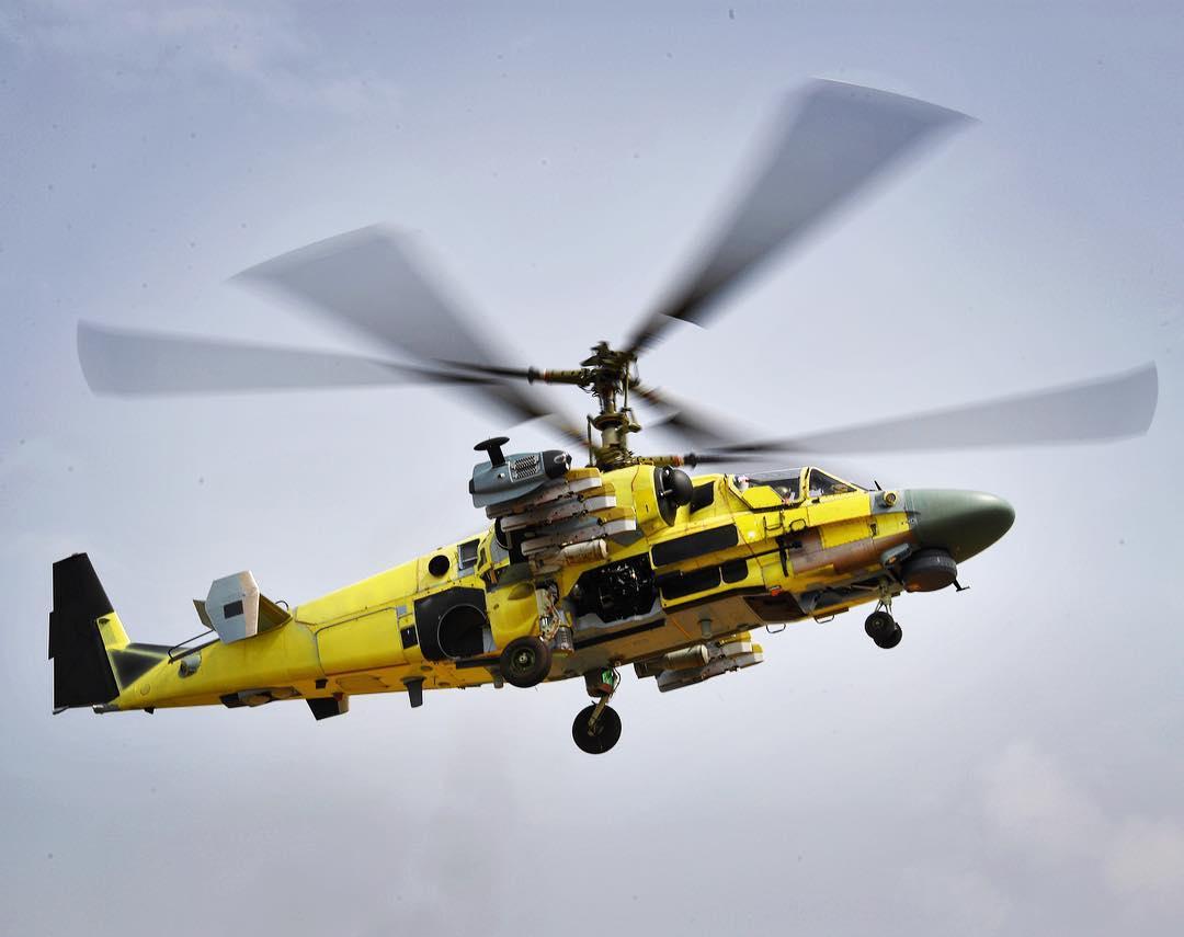 Испытания первых вертолетов Ка-52,построенных для Египта
